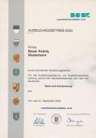 Ausbildungsbetrieb 2003
