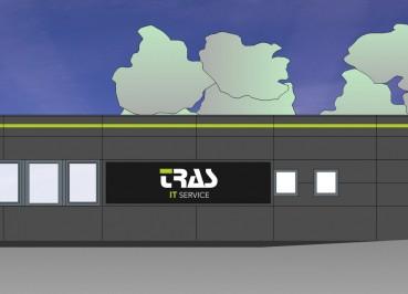TRAS IT Service Baustellenschild